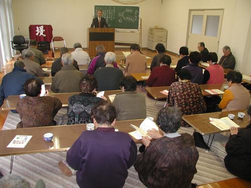 本山地区で出前講座を開催しました