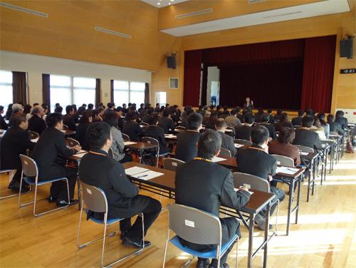 五島市で社内研修(郵便局)の講師をつとめました