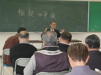 五島市三井楽町濱ノ畔地区で出前講座を開催しました
