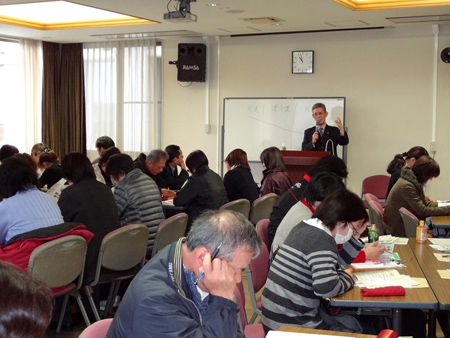 五島市で初実施 介護支援専門員専門研修の特別講義を担当しました。